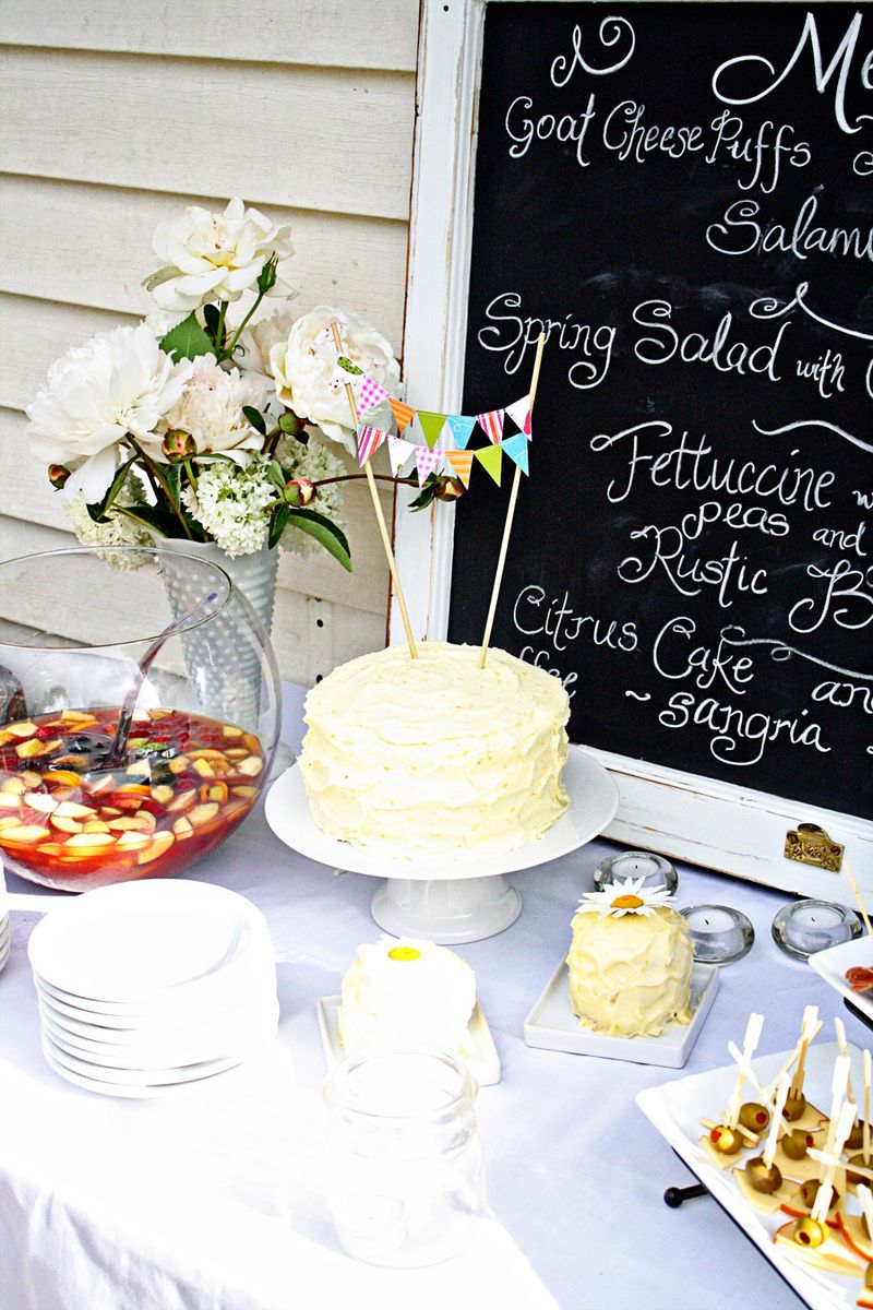 Cake table1